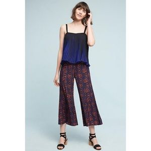 Elevenses Anthropologie Tessie Flare Trousers
